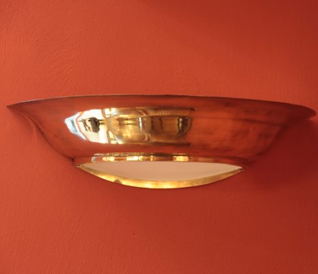 French Art Deco Wall Lights, 1940s, Set of 2 for sale at Pamono