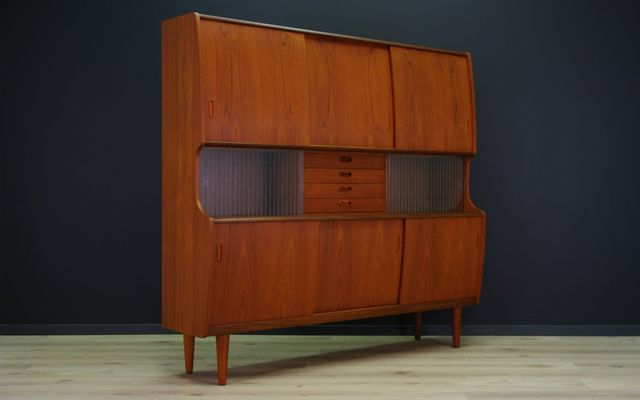 Danish Teak Credenza For Sale : Danish teak credenza by poul m. jessen for viby j 1960s sale at