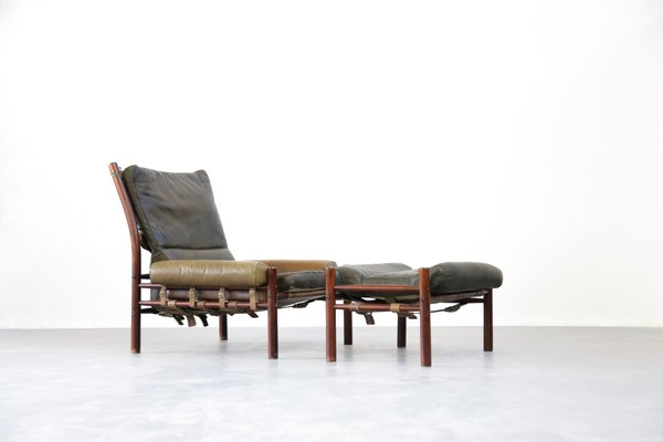 Charmant Mid Century Lounge Chair U0026 Ottoman From Arne Norell 1