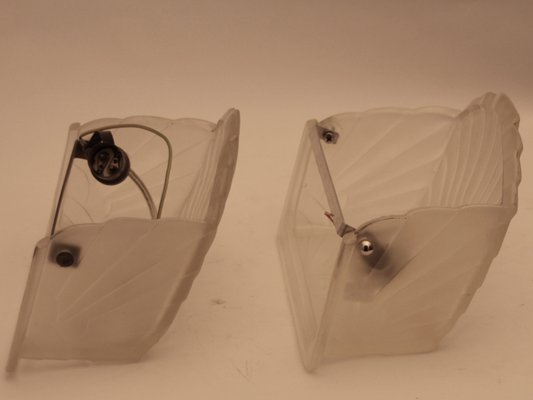French Art Deco Wall Lights From Schneider 1920s Set Of 2 7