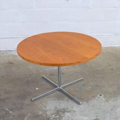 Round Vintage Coffee Table For At