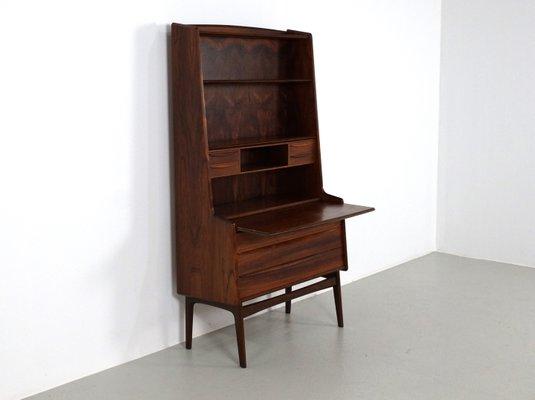 Scrivania A Scomparsa.Secretaire Vintage In Palissandro Con Scrivania A Scomparsa Danimarca