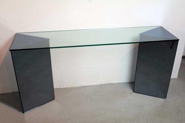 Vintage Console Table By Giuseppe Raimondi For Crystal Art 1