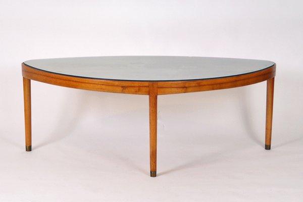 Walnut Coffee Table.Mid Century Danish Walnut Coffee Table