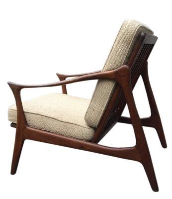 Mid Century Danish Teak Easy Chair By Arne Hovmand Olsen For Mogens