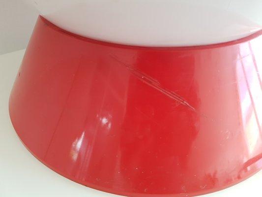 Lampe de bureau en plastique 1970s en vente sur pamono