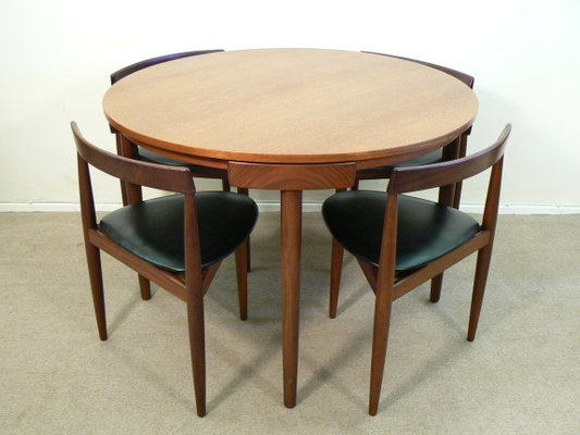 Dining Table Set By Hans Olsen For Frem Rojle 1960s 1
