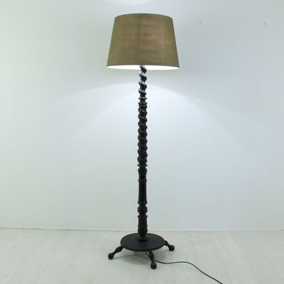 Vintage wooden floor lamp 1900s for sale at pamono vintage wooden floor lamp 1900s 4 aloadofball Choice Image