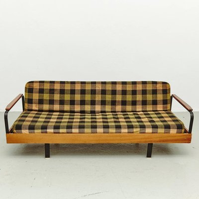 Marvelous Vintage French Checkered Sofa U0026 Daybed 2