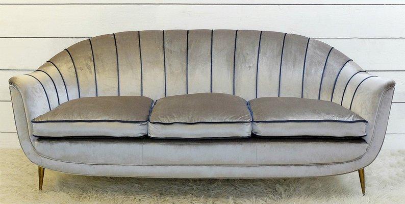 Enjoyable Vintage Italian Sofa 1950S Machost Co Dining Chair Design Ideas Machostcouk