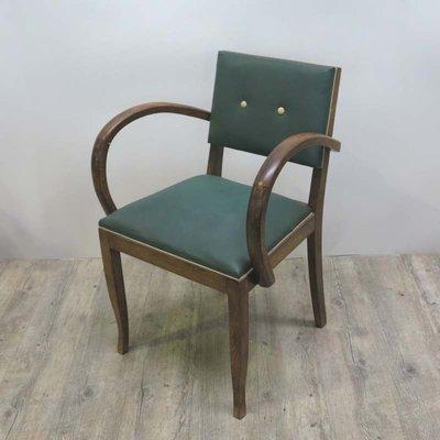 fauteuil art dco en skai 1930s 1 - Fauteuil Art Deco