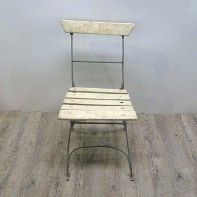 Folding Wooden Garden Chair 1940s 1