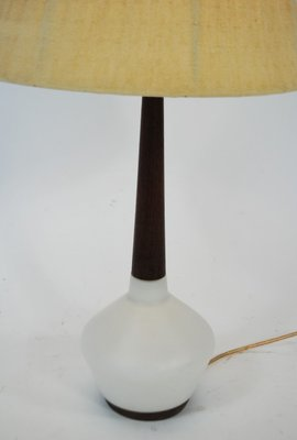 Danish Teak Ceramic Table Lamp 1960s For Sale At Pamono
