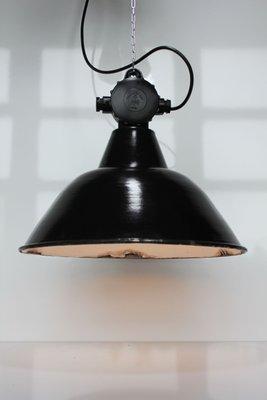 Große Modell Ehs1c Fabrik Bauhaus Lampe Von Leuchtenbau Wittenberg