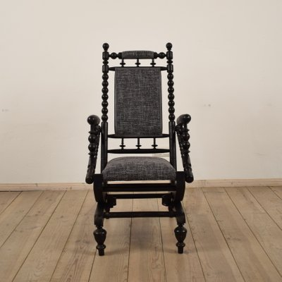 Antique American Rocking Chair 2 - Antique American Rocking Chair For Sale At Pamono