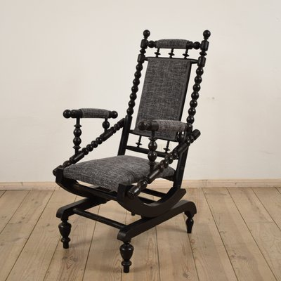 Antique American Rocking Chair 1 - Antique American Rocking Chair For Sale At Pamono