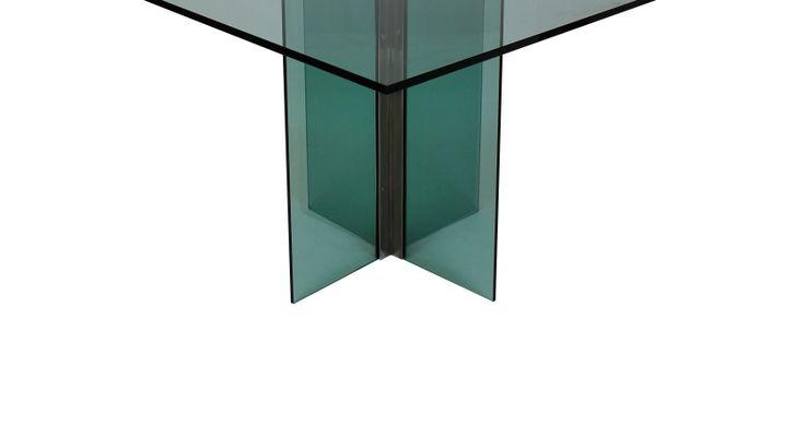 Tavoli Da Pranzo In Vetro : Tavolo da pranzo vintage in metallo cromato e vetro in vendita su pamono