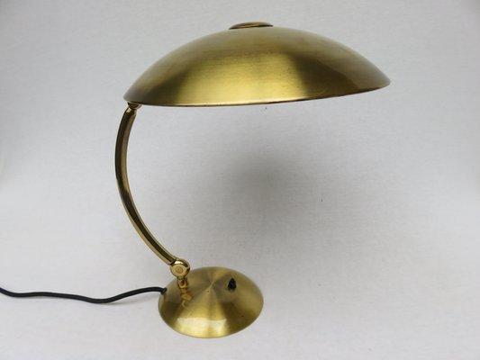 Lampada da scrivania in ottone di hillebrand anni in vendita