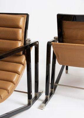 Transat Chair By Eileen Gray For Ecart International, 1980s