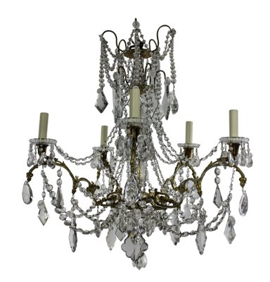 Antique french chandelier from baccarat 1880s for sale at pamono antique french chandelier from baccarat 1880s 3 aloadofball Images