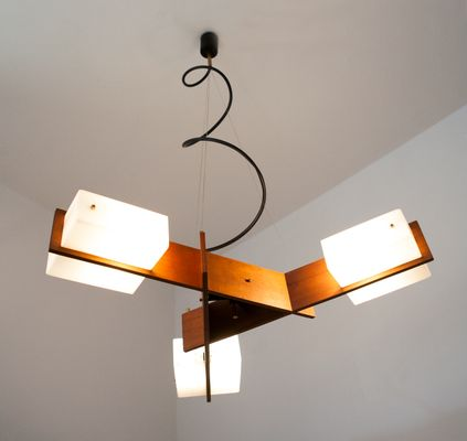 Italian Mid Century Ceiling Light From Esperia 1950s 6