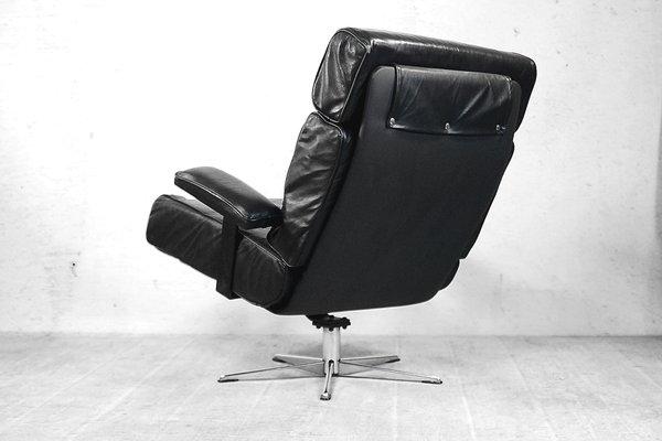 Poltrona Ufficio Anni 60 : Poltrona girevole da ufficio in pelle italia anni in vendita