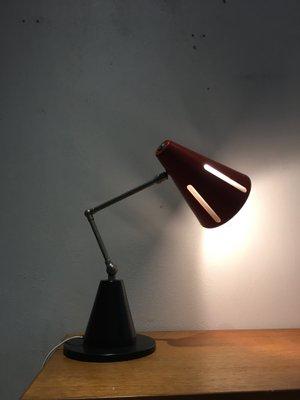 Dutch Sun Series Desk Lamp By H Th J A Busquet For Hala 1955