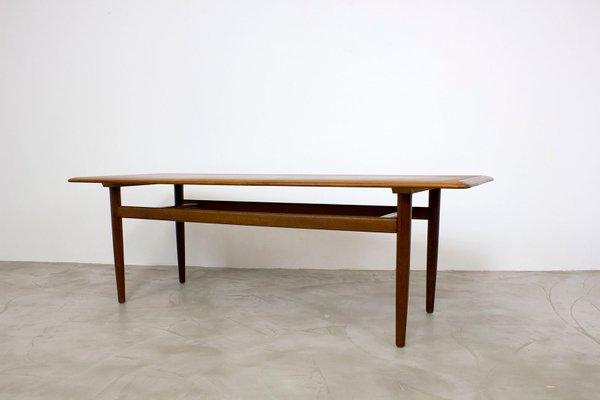 Table Basse Moderne En Teck Danemark 1960s