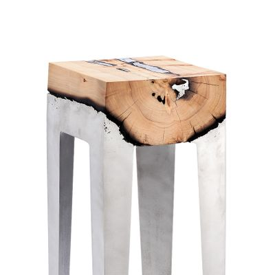 Terrific Wood Casting Console Table By Hilla Shamia The Exceptional Andrewgaddart Wooden Chair Designs For Living Room Andrewgaddartcom