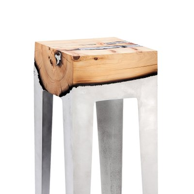 Awe Inspiring Wood Casting Console Table By Hilla Shamia The Exceptional Andrewgaddart Wooden Chair Designs For Living Room Andrewgaddartcom