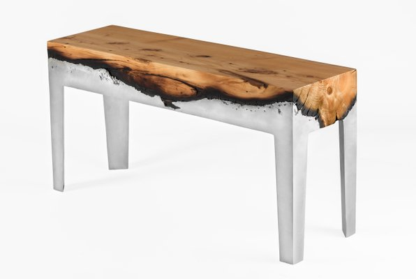 Wood Casting™ Bench by Hilla Shamia for sale at Pamono