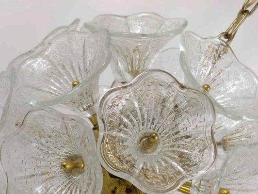 Kronleuchter Mit Blumen ~ Sputnik kronleuchter mit murano glas blumen er bei pamono kaufen