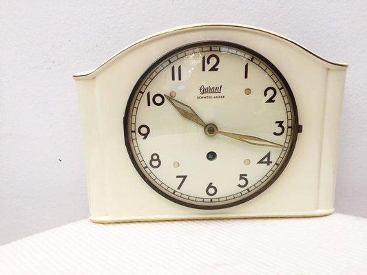 Orologio da parete in ceramica di garant germania anni in
