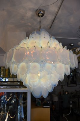 Vintage Italian Disc Ceiling Light From Vistosi