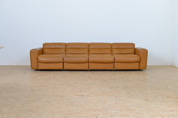 Swell Vintage Four Seater Leather Sofa With Relax Function From De Sede Uwap Interior Chair Design Uwaporg