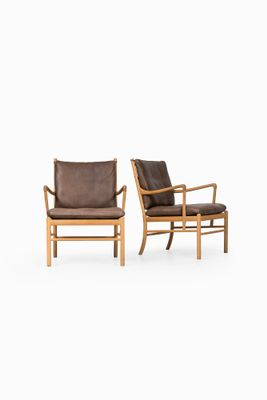 Prime Model Pj 149 Colonial Easy Chairs By Ole Wanscher For Poul Jeppesen 1960S Set Of 2 Ibusinesslaw Wood Chair Design Ideas Ibusinesslaworg