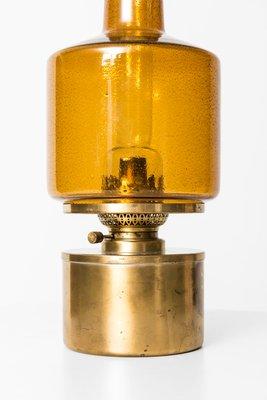 Lampada Ad Olio Modello L 47 Di Hans Agne Jakobsson Anni 50 In