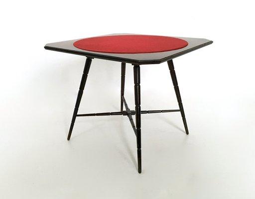 Tavoli Da Gioco Pieghevoli Milano : Tavolo da gioco in palissandro di chiavari italia anni in
