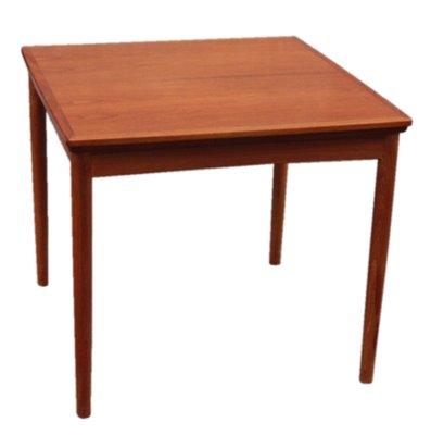 Danish Extendable Teak Dining Table By Poul Hundevad For Dogvad  Möbelfabrik, 1960s 1