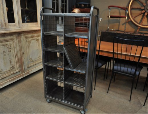 innovative design bd741 ef1df Vintage Industrial Postal Shelving Unit