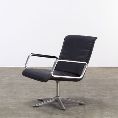 Delta Series Office Lounge Chair From Wilkhahn 1970s 1