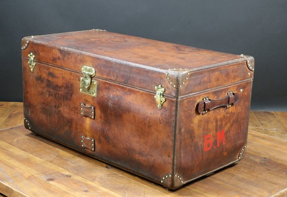 f1d5e4b89d7 French Leather Trunk from Goyard