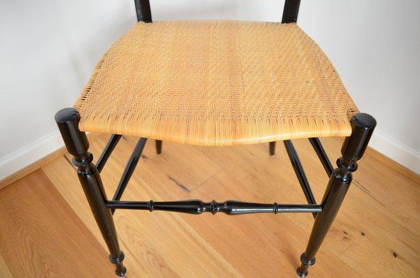 Sedie Di Chiavari.Sedia Di Chiavari Per Gessef Consorzio Sedie Friuli Italia Anni 60