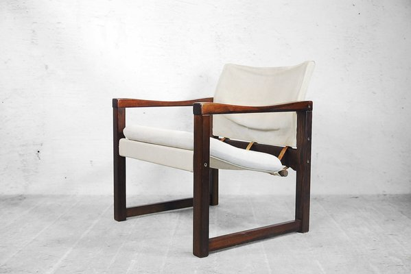 Charmant Scandinavian Diana Safari Canvas Chairs By Karin Mobring For Ikea, 1972,  Set Of 2