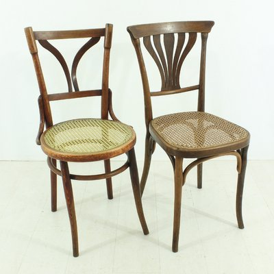 Antique Bentwood Bistro Chairs, Set of 2 1 - Antique Bentwood Bistro Chairs, Set Of 2 For Sale At Pamono