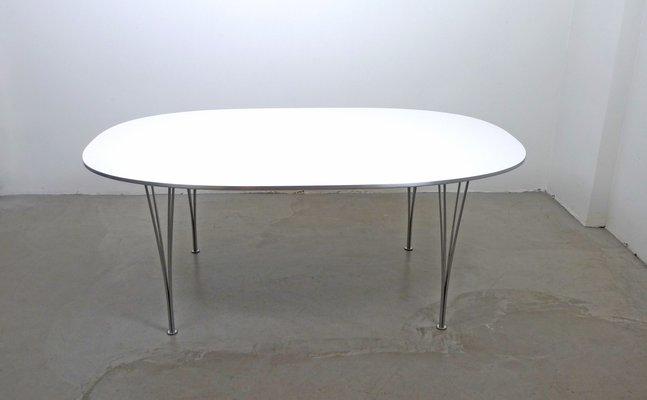 Skandinavischer Moderner Elliptical Tisch Von Piet Hein, Bruno Mathsson Und  Arne Jacobsen Für Fritz Hansen