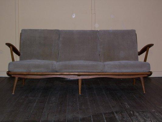 Merveilleux Dutch Sofa With Core Springs, 1950s 1