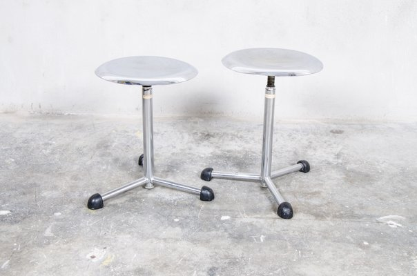 Terrific Medical Stools From Maquet 1950S Set Of 2 Ocoug Best Dining Table And Chair Ideas Images Ocougorg