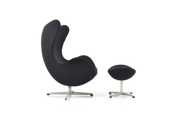The Egg Chair U0026 Ottoman By Arne Jacobsen For Fritz Hansen, ...