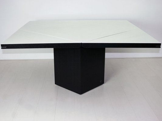 German Quadrondo Dining Table By Erwin Nagel For Rosenthal Einrichtung,  1980s 1